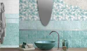grüne Mosaik Badezimmer Renovierungshäuser