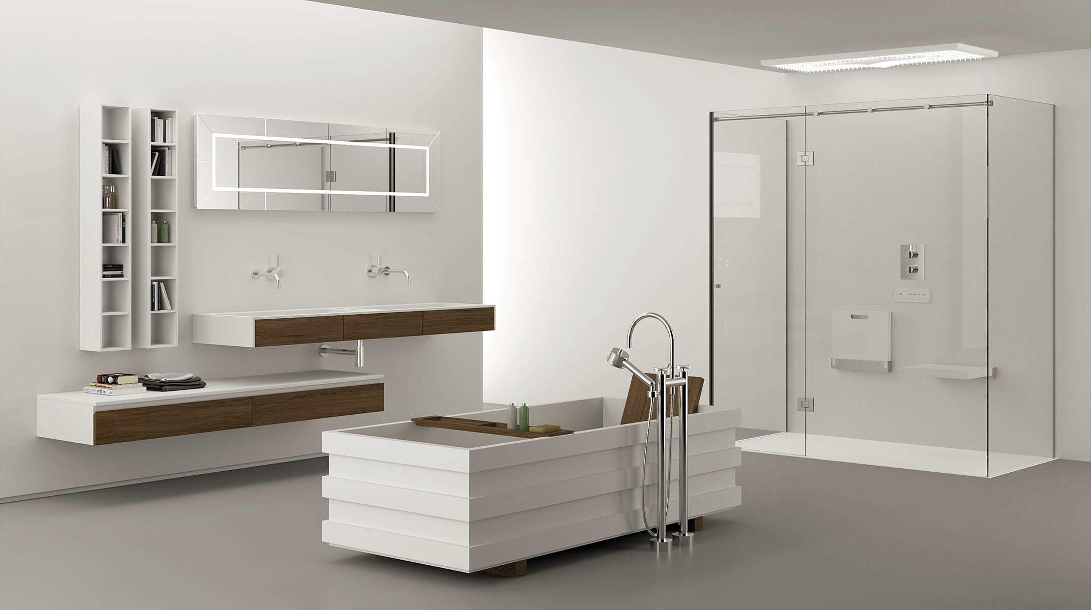 Il bagno si trasforma soluzioni funzionali e di design - Iperceramica arredo bagno ...