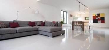 pavimento resina stile minimal