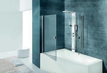 doccia moderna vetro temperato