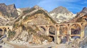 Carrara-Marmorsteinbrüche