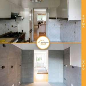 Renovierung der gesamten Häuser Wohnung Küche neu 73qm