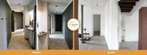 renovated apartment-carpi-milano