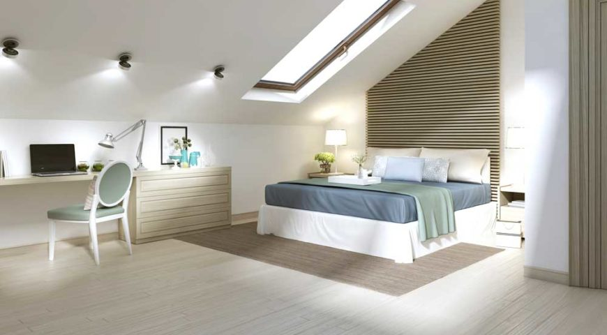 Scopri come ristrutturare il sottotetto e vivere in - Camera da letto particolare ...