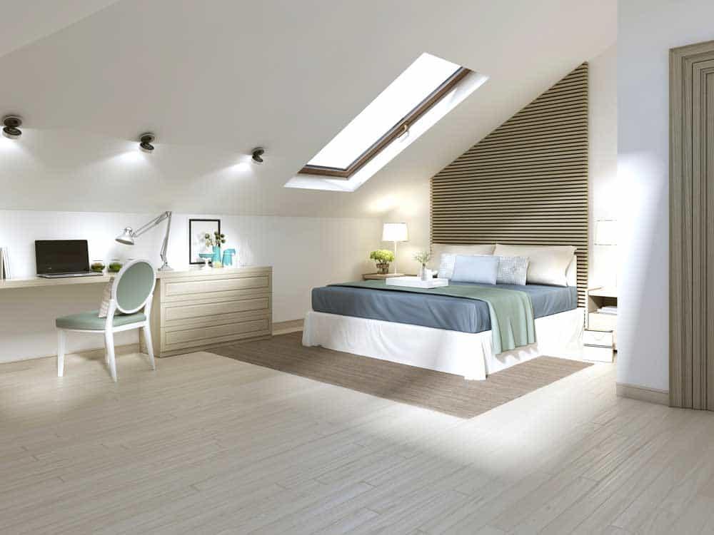 Scopri come ristrutturare il sottotetto e vivere in mansarda con - Camera da letto mansarda ...