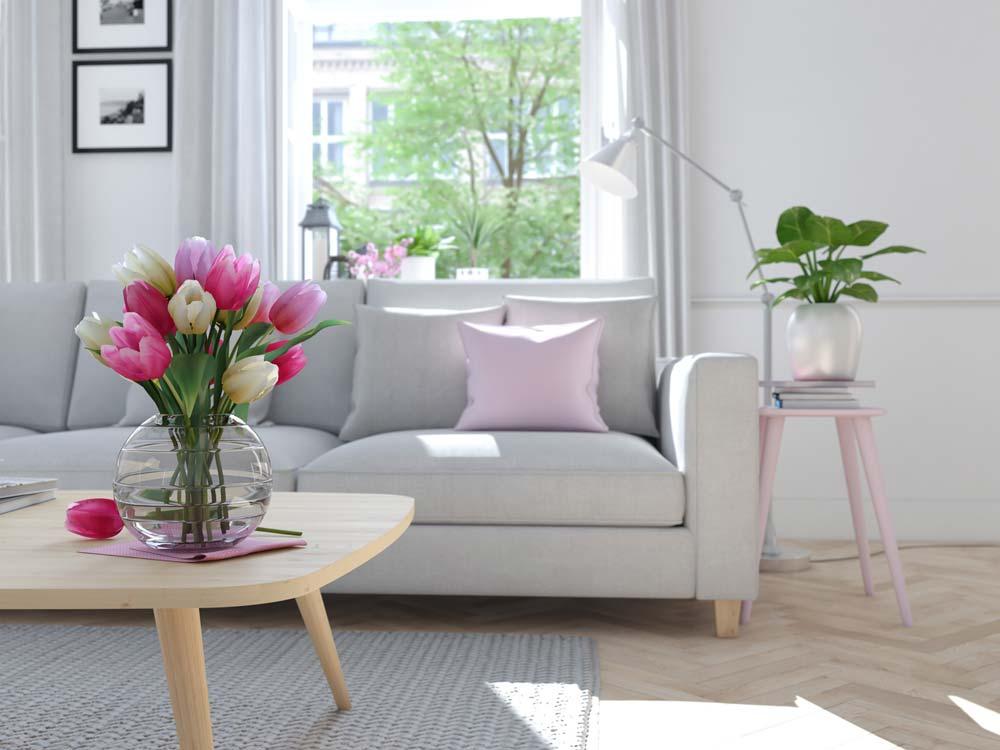 Rinnovare casa per la primavera spendendo poco ridipingere - Rinnovare bagno spendendo poco ...
