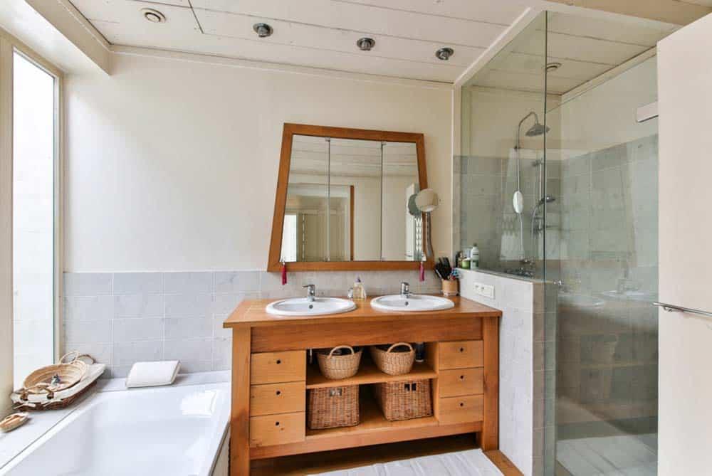 Scopri come trasformare il tuo bagno in una spa tramite una - Trasformare ripostiglio in bagno ...