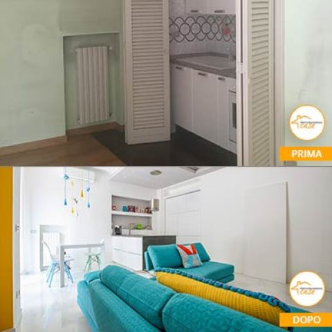 Ristrutturazione appartamento di 45 mq