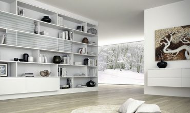 Ecco come arredare la casa con le librerie e sfruttare tutti gli spazi