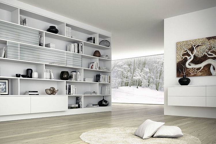 Come Costruire Una Libreria A Muro.Arredare Casa Con Librerie Ristrutturazione Case